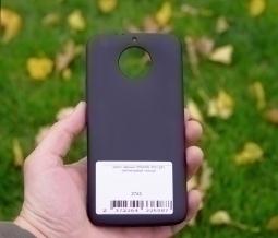 Чехол Motorola Moto G5s чёрный - изображение 2
