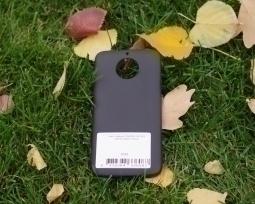 Чехол Motorola Moto G5s чёрный - изображение 3