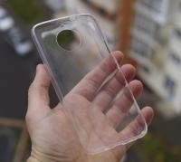Чехол Motorola Moto G5s прозрачный - изображение 2