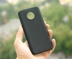Чехол Motorola Moto G6 чёрный - изображение 4