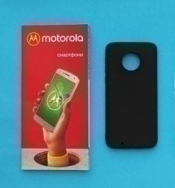 Чехол Motorola Moto G6 чёрный - изображение 2