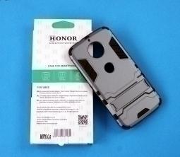 Чехол Motorola Moto G6 Play Honor серый - изображение 2