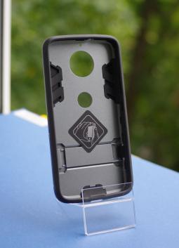 Чехол Motorola Moto G6 Honor серый - фото 2