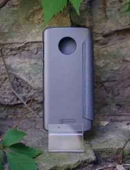 Чехол книжка Motorola Moto G6 Nillkin серый - фото 2