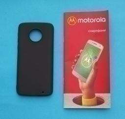 Чехол Motorola Moto G6 Plus чёрный