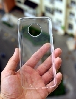 Чехол Motorola Moto G6 Plus прозрачный