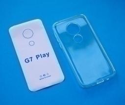 Чехол Motorola Moto G7 Play прозрачный TPU - фото 3