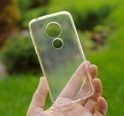 Чехол Motorola Moto G7 Play прозрачный TPU - фото 2