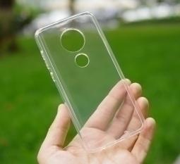 Чехол Motorola Moto G7 Plus TPU прозрачный