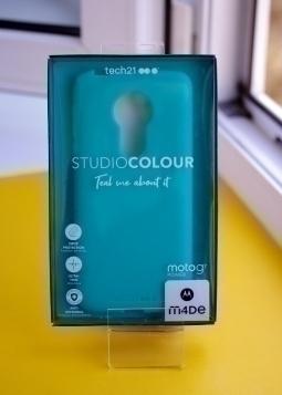 Чехол Motorola Moto G7 Power Studio Colour  Mint - фото 4