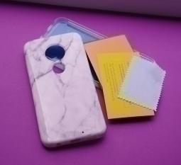 Чехол Motorola Moto G7 Suritch + защита дисплея PET - фото 3