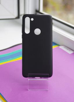 Чехол Motorola Moto G8 черный матовый