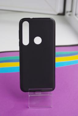 Чехол Motorola Moto G8 Plus черный матовый - фото 3