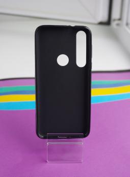 Чехол Motorola Moto G8 Plus черный матовый - фото 2