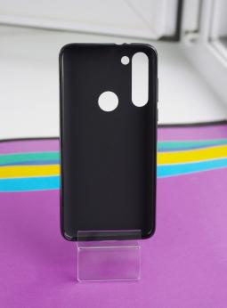 Чехол Motorola Moto G8 Power черный матовый - фото 2