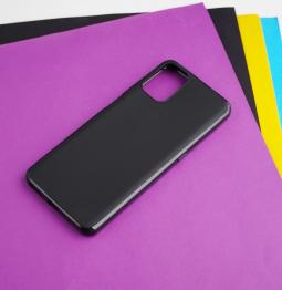 Чехол Motorola Moto G9 Plus чёрный матовый