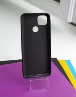 Чехол Motorola Moto G9 Power чёрный матовый - фото 2
