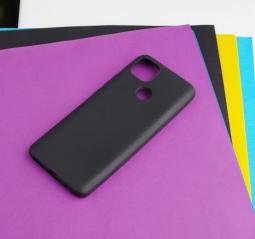 Чехол Motorola Moto G9 Power чёрный матовый