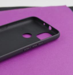 Чехол Motorola Moto G9 Power чёрный матовый - фото 5