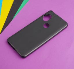 Чехол Motorola One Hyper чёрный матовый