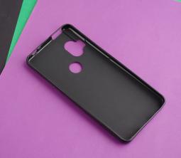 Чехол Motorola One Hyper чёрный матовый - фото 2