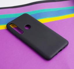 Чехол Motorola Moto One Macro черный матовый