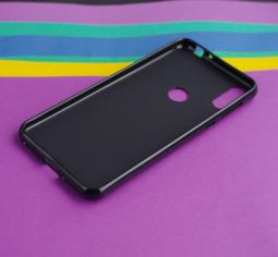 Чехол Motorola Moto One (P30 Play) черный матовый - фото 4