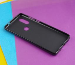 Чехол Motorola Moto One Vision черный матовый - фото 2