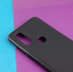 Чехол Motorola Moto One Vision черный матовый - фото 5