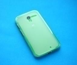 Чехол Motorola Moto X прозрачный матовый - фото 3