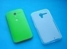 Чехол Motorola Moto X прозрачный матовый - фото 2