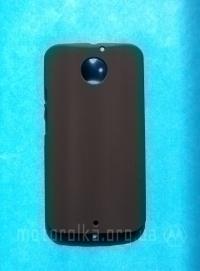 Чехол Motorola Moto X2 hard shell черный - изображение 3
