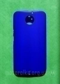 Чехол Motorola Moto X2 hard shell синий - изображение 3