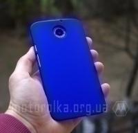 Чехол Motorola Moto X2 hard shell синий