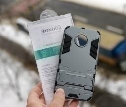 Чехол Motorola Moto X4 Honor silver - изображение 2