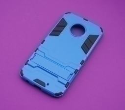 Чехол Motorola Moto X4 Honor синий