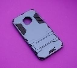 Чехол Motorola Moto X4 Honor серый с синим оттенком