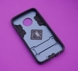 Чехол Motorola Moto X4 Honor серый с синим оттенком - фото 2