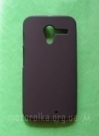 Чехол Motorola Moto X hard shell черный - изображение 2