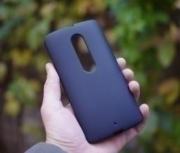 Чехол Motorola Moto X Play чёрный матовый - изображение 3