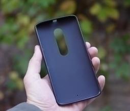 Чехол Motorola Moto X Play чёрный матовый - изображение 4