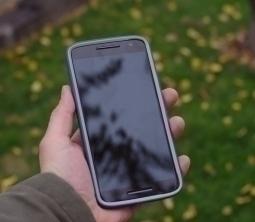 Чехол Motorola Moto X Play Speck синий - изображение 2
