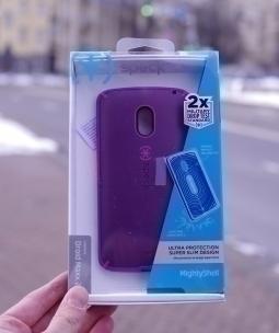 Чехол Motorola Moto X Play / Droid Maxx 2 розовый - изображение 4