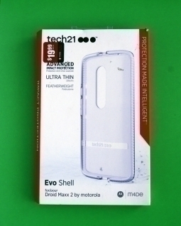 Чехол Motorola Moto X Play / Droid Maxx 2 Tech21 Evo Shell белый