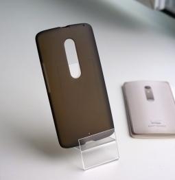 Чехол Motorola Moto X Play / Droid Maxx 2 чёрный - фото 2