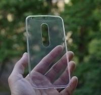 Чехол Motorola Moto X Style (Pure) прозрачный - изображение 2