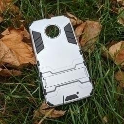Чехол Motorola Moto X4 Honor серебро
