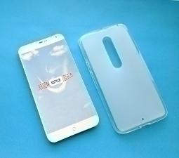 Чехол Motorola Moto X Style прозрачный матовый
