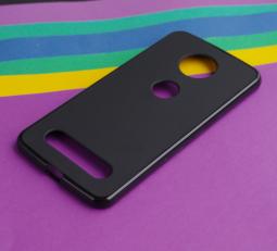 Чехол Motorola Moto Z2 Force черный матовый - фото 3