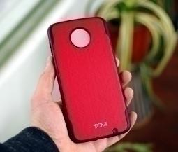 Чехол Motorola Moto Z2 Force красный Tumi